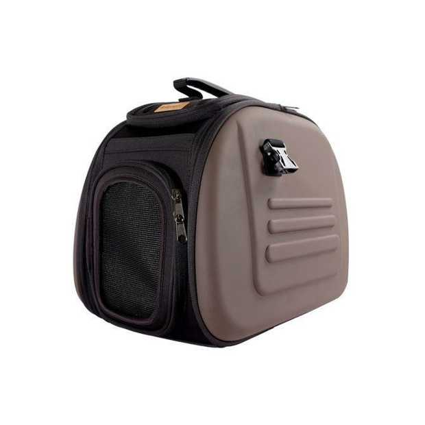 IBIYAYA Classic EVA Collapsible Pet Carrier - Chocolate