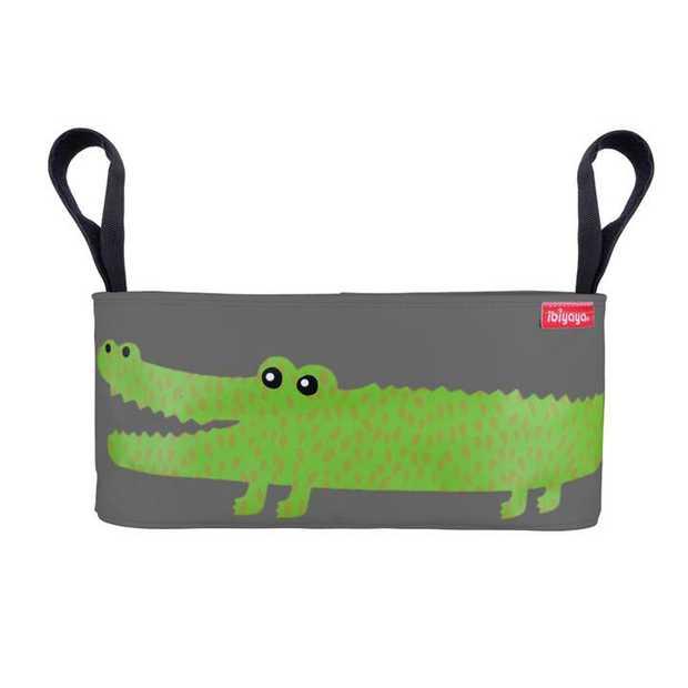 Stroller Organizer - Crocodile Gray