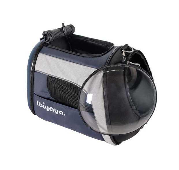 Ibiyaya Explorer Plus Cat and Dog Backpack Pet Carrier with Transparent Window - Large