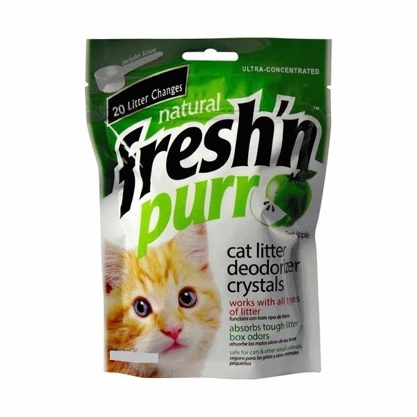 Fresh n Purr Non-Toxic Cat Litter Deodorising Crystals - 70g