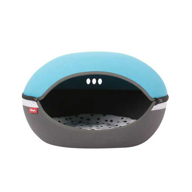 Ibiyaya Little Arena Convertible Pod Bed for Cats & Small Dogs - Blue