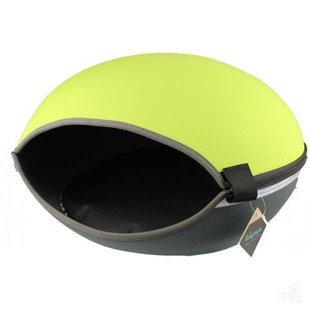 Ibiyaya Little Arena Convertible Pod Bed for Cats & Small Dogs - Green