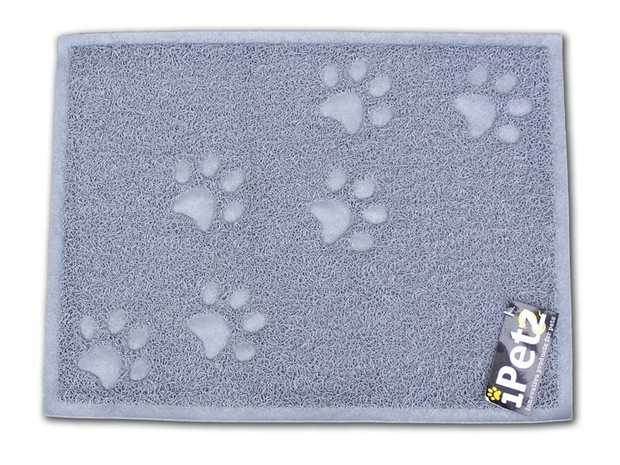 iPetz Anti Tracking Decorative Cat Litter Trapper Mat - Small