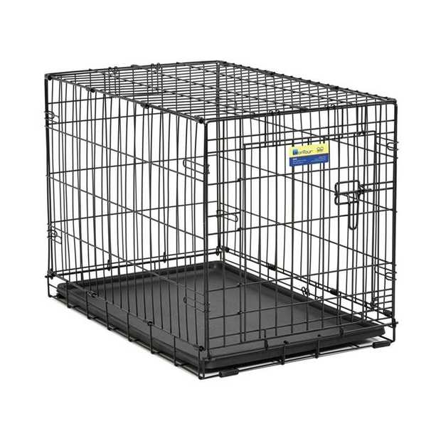 Midwest Contour Double Door Dog Crate with Divider [Size: 24 - 824DD]