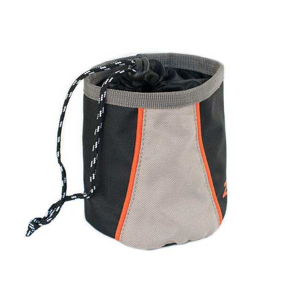 Zippy Paws Adventure Dog Treat & Training Walking Bag - Volcano Black