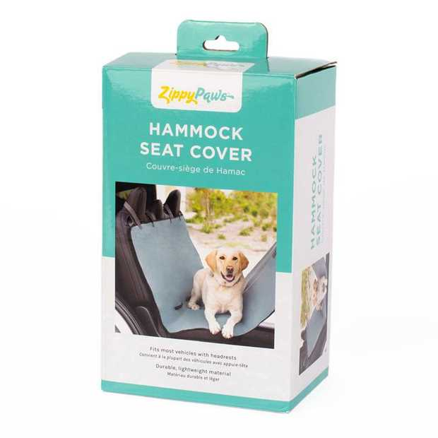 Zippy Paws Adventure Car Hammock Back Seat Cover Protector