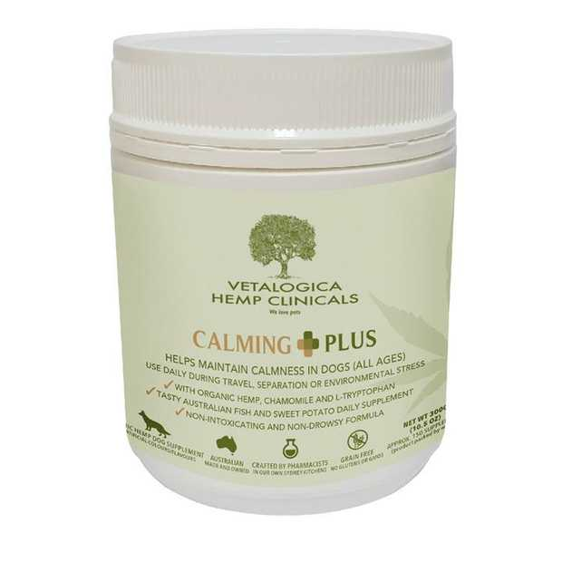 Vetalogica Hemp Clinicals Calming Plus Dog Supplement 300g