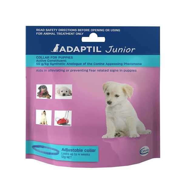 Adaptil Junior - On the Go & Training Pheromone Collar for Puppies
