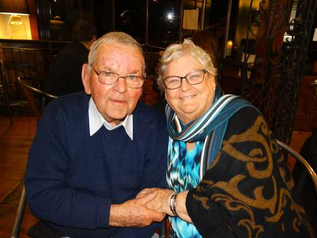 To Mum and Dad (Nanny and Pa KB)   Celebrating their 60th Wedding Anniversary today.