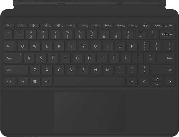 This lightweight keyboard cover Microsoft Surface Go 2 Type Cover KCM-00039 simply clicks into place on...