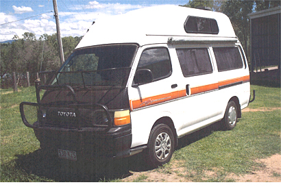 TOYOTA Hi-Ace Camper 1990