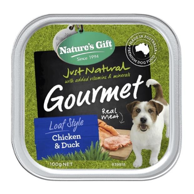 natures gift wet dog food adult chicken and duck  9 x 100g | Natures Gift dog food | pet supplies|...