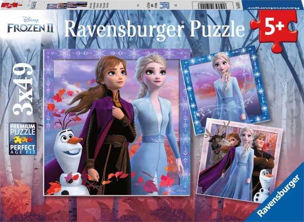 Ravensburger - Frozen 2 The Journey Starts 3X49pc
