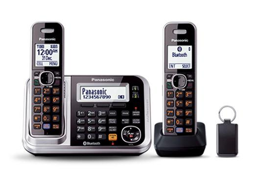 Link-to-cell Noise reduction Advanced TAM Key finder included Multiple handsets capability Power...