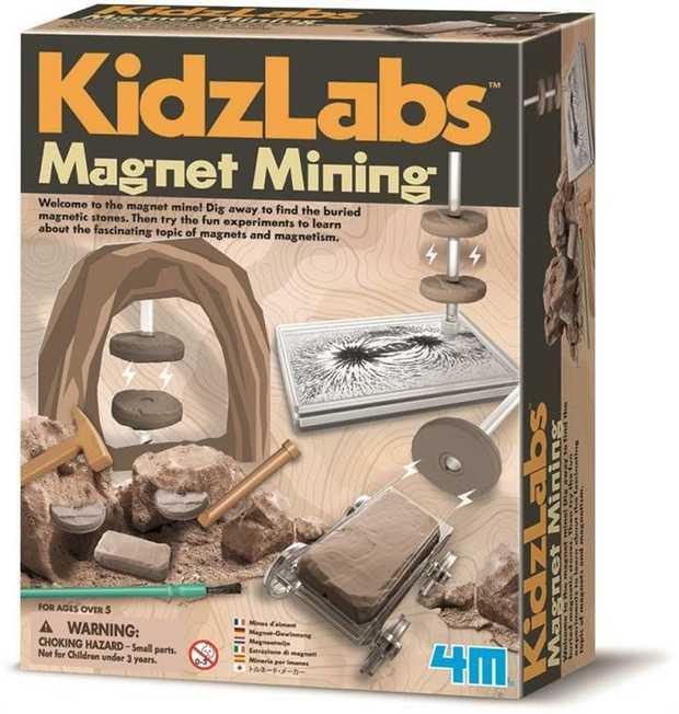4M - Kidzlabs - Magnet Mining
