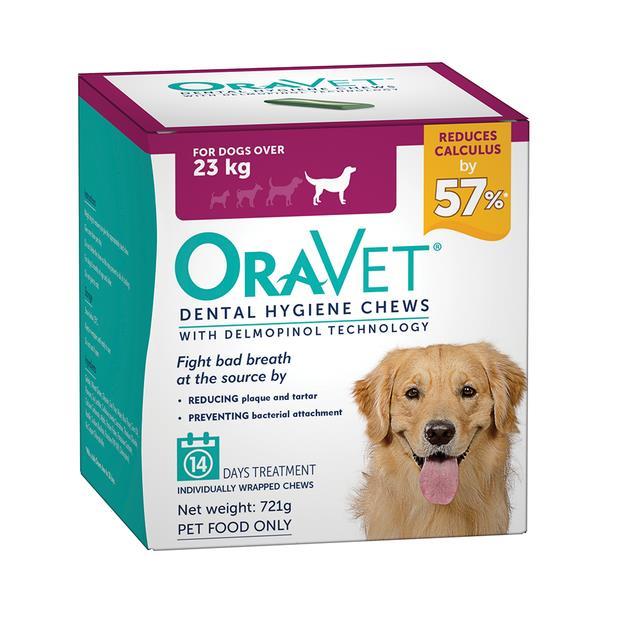 oravet dental hygiene chews large  14 chews | Oravet dog | pet supplies| Product Information:...