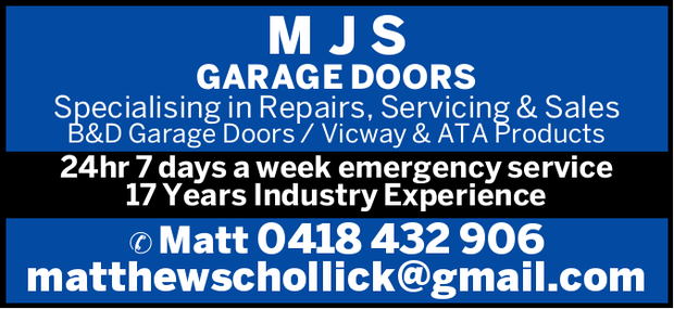 MJS GARAGE DOORS  
