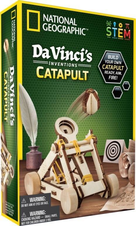 Da Vinci's Inventions Catapult