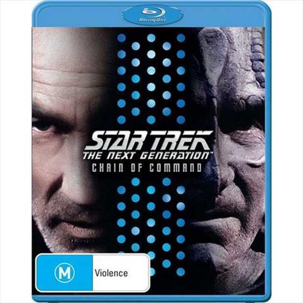 Star Trek - Next Gen - Chain Of Command Blu-Ray         Tensions rise as...