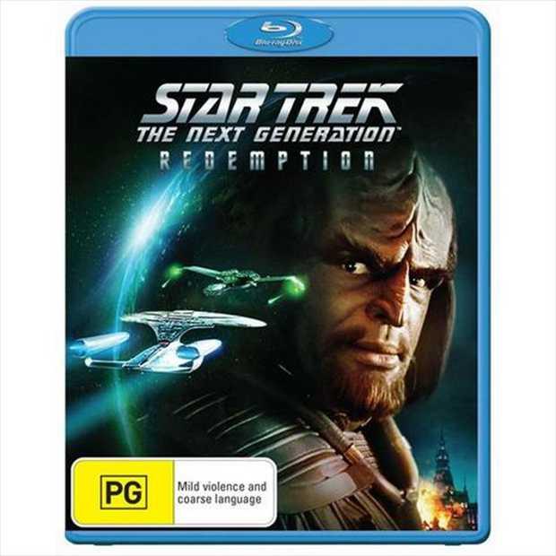 Star Trek - The Next Generation - Redemption Blu-Ray      The U.S.S.