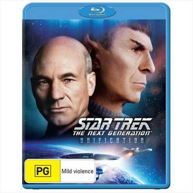 Star Trek - Next Gen - Unification Blu-Ray      Leonard Nimoy...