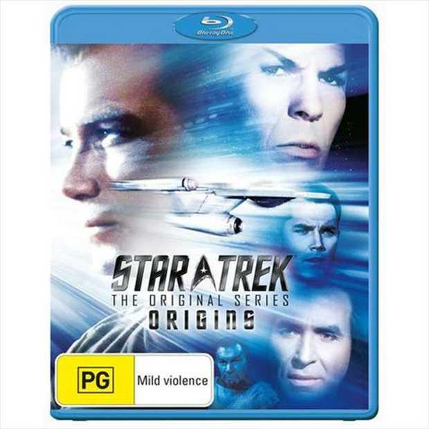 Star Trek - The Original Series - Origins Blu-Ray      Here are the...