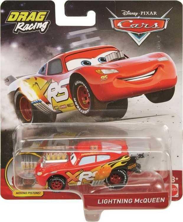 Disney Pixar Cars Xrs Drag Racing Singles Series Assorted