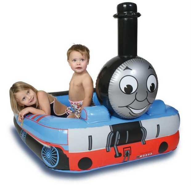 Inflatable -Thomas Engine Pool