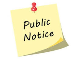 NOTICE OF AN APPLICATION FOR PLANNING PERMIT   