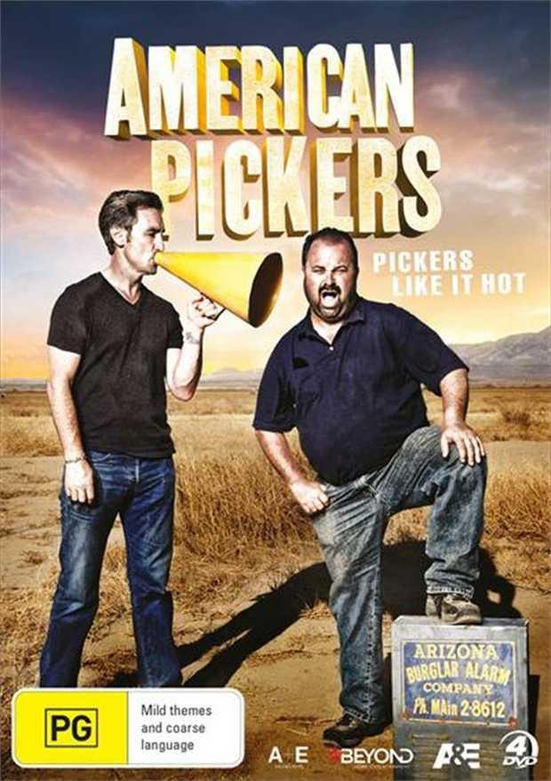 American Pickers - Pickers Like It Hot DVD      One man's trash...