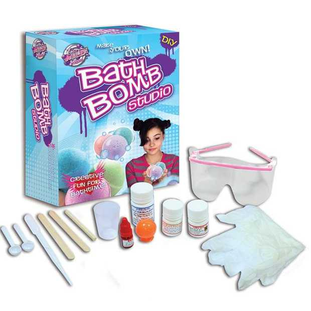 Make your own scented bath bombs and learn about the science behind the fizz. Create foaming...