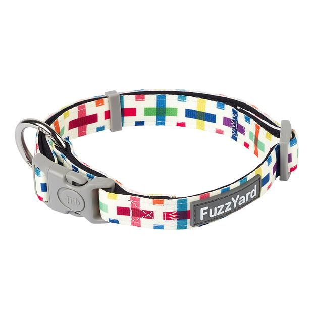 fuzzyard jenga dog collar  small | FuzzYard dog | pet supplies| Product Information:...