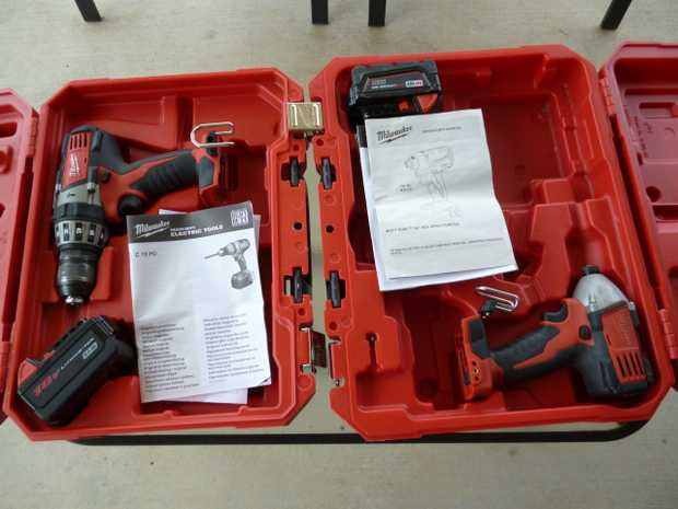 Selling my Milwaukee M18 C18PD Hammer Drill and M18 CID Impact Driver.  These units are domestic use...