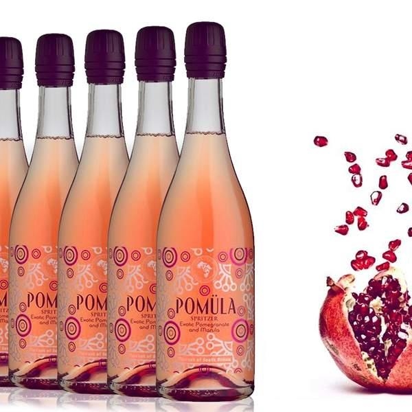 If you like your fizz a little bit festive then you can't go past Gold Medal-winning Pomula Exotic...