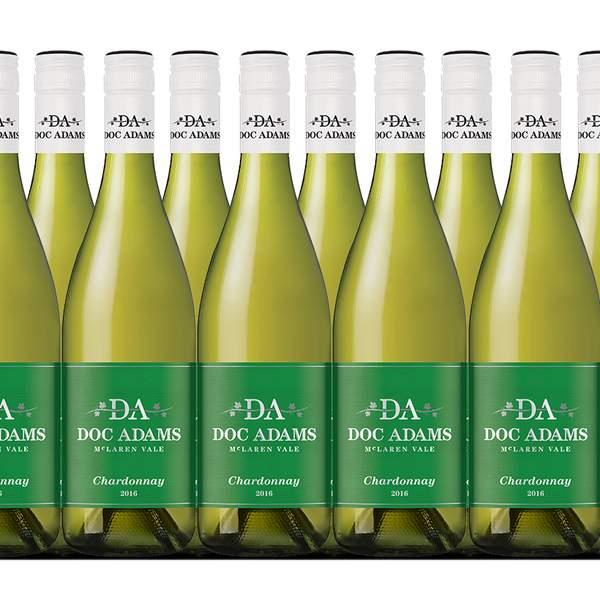 Make the most of the autumn sunshine with a case of Doc Adams 2016 Chardonnay, a bright and lively wine...