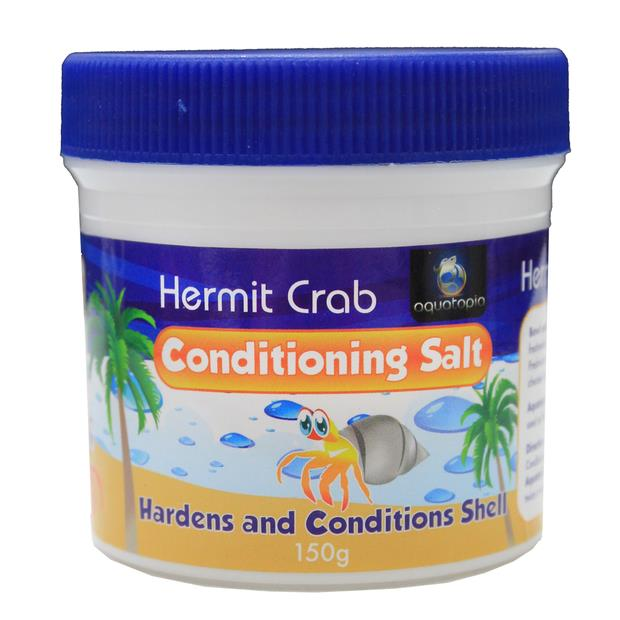 aquatopia hermit crab conditioning salt  150g | Aquatopia | pet supplies| Product Information:...
