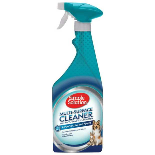 Simple Solution Multi Surface Cleaner for Pet Stains & Odours 750ml