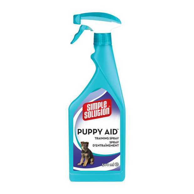 Simple Solution Puppy Training Aid Attractant Spray to Help Potty Train 500ml