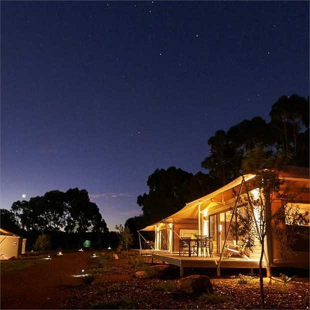 Escape to Margaret River wine country to enjoy farm-fresh produce and gorgeous lake views, glamping in...