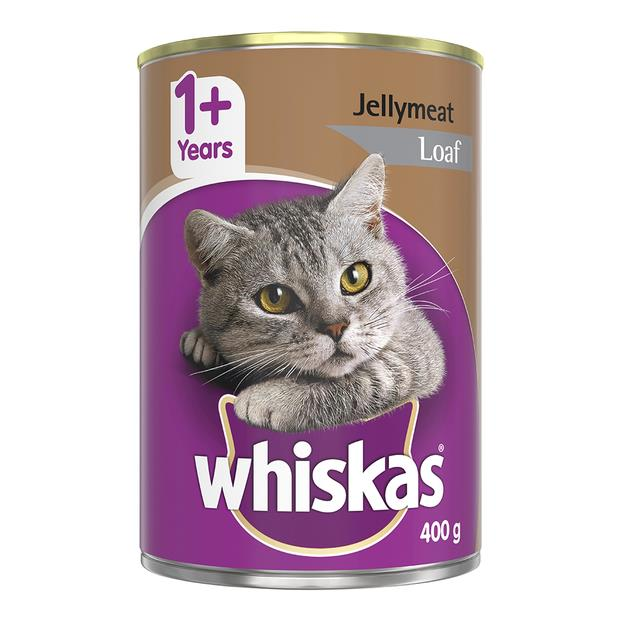 whiskas wet cat food adult 1 plus jellymeat loaf  24 x 400g | Whiskas cat food | pet supplies| Product...