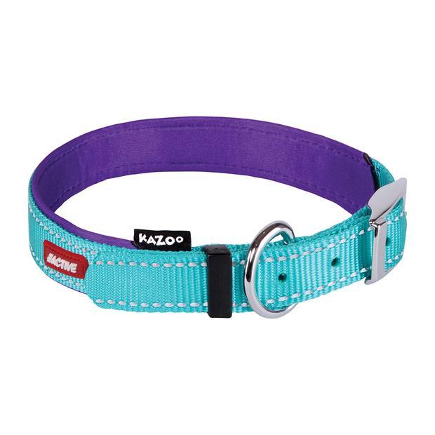 kazoo collar active aqua  medium   Kazoo dog   pet supplies  Product Information:...