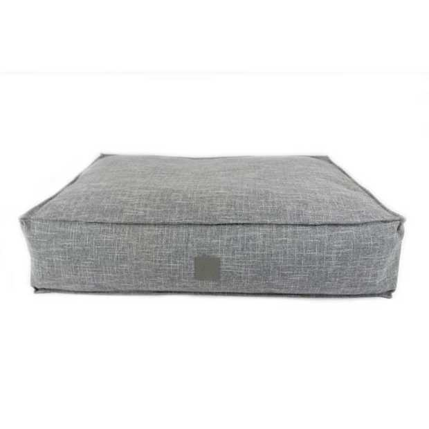 The T & S Interior Floor Cushion Ash Grey Dog Bed gives your floor an instant upgrade as a cool and...