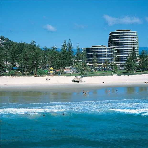 Escape to the sun-kissed Gold Coast for a laid-back break to the gorgeous Burleigh Heads. Gather family...