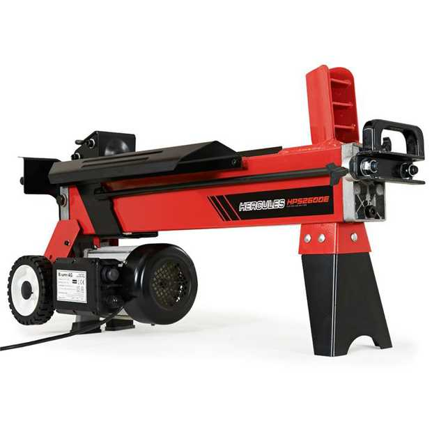 The NEW Baumr-AG Hercules Series HPS2600E 8 Tonne Log Splitter gives you the power previously only...
