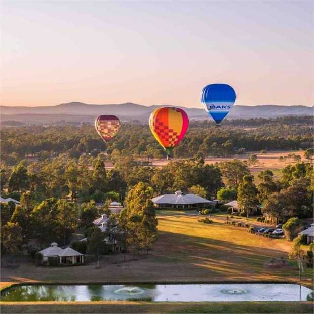 Leave city life behind and discover the serene beauty and vibrant rolling hills of the striking Hunter...