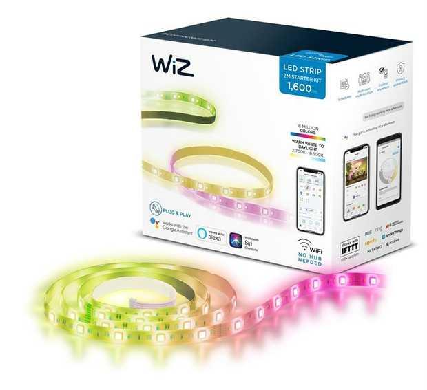1600lm - 16 Million Colours Warm white to daylight 2,700K - 6,500K Wifi- No hub needed Plug & Play...