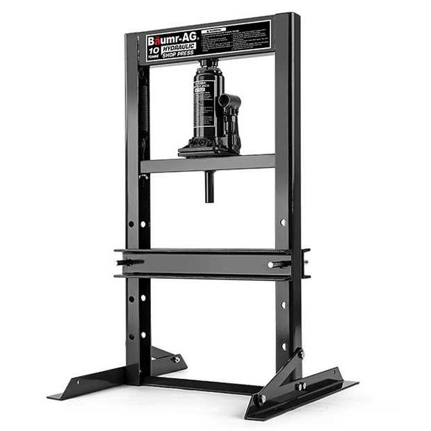The NEW Baumr-AG 10T Hydraulic Shop Press is the perfect machine to properly execute your mechanical...