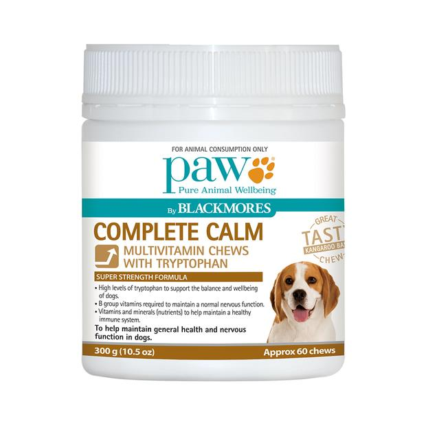 paw blackmores complete calm chews  600g | PAW Blackmores dog | pet supplies| Product Information:...