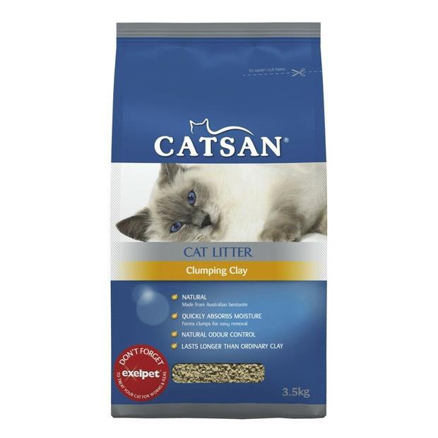 catsan cat litter ultra clumping clay  21kg | Catsan cat | pet supplies| Product Information:...