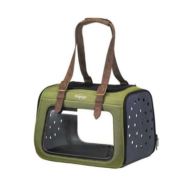 Ibiyaya Portico Deluxe Fabricr Pet Carrier Cat & Dog Transporter